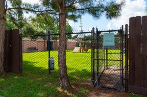 Apartments in Katy, TX - Dog Park Entrance